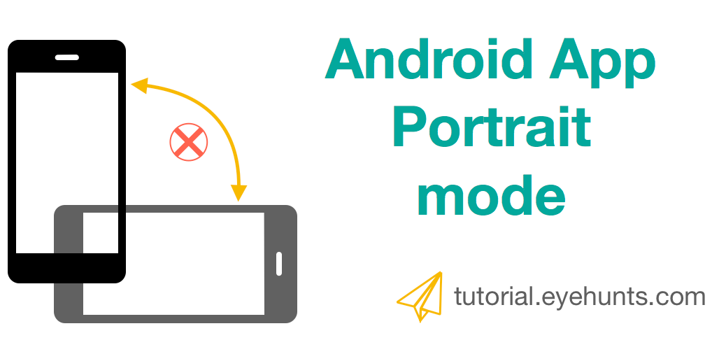 How to Set entire Android Application in Portrait mode only(Portrait Orientation)- Kotlin