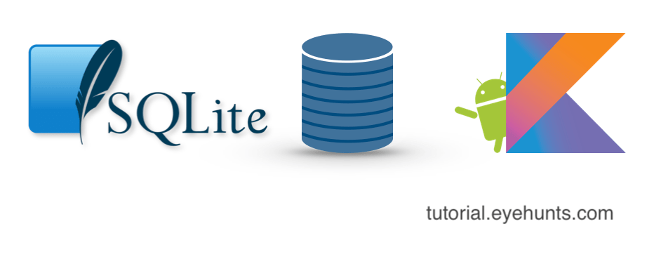 SQLite database in Android kotlin example android studio