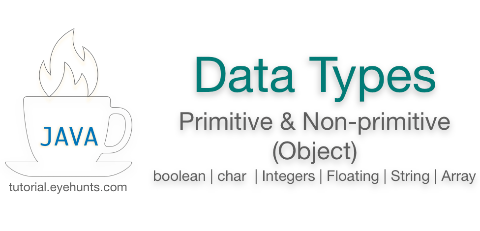 Java Data Types Primitive & Non-primitive (Object) with Examples