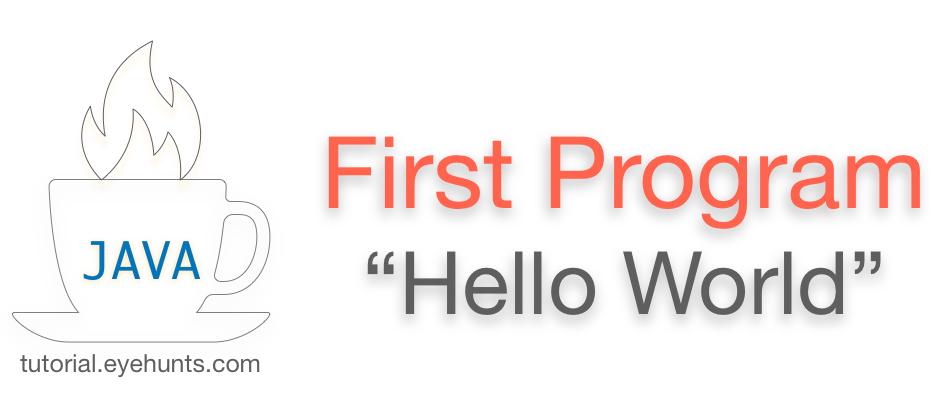 Java Hello World Program Java First Program