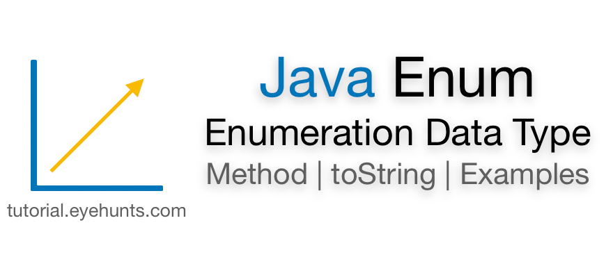 Java Enum Example Enumeration String Constructor and Methods