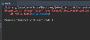 Console class in java error