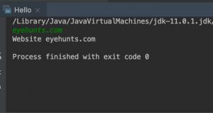 Get user input using Java Bufferedreader Class