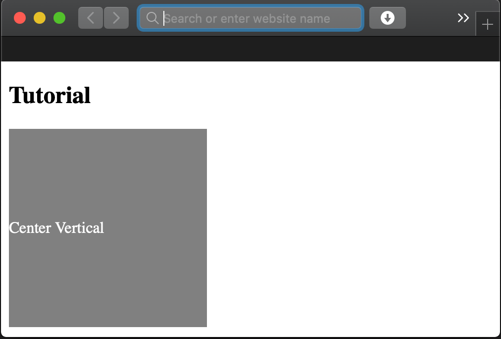HTML Text Align Center (Vertical   Horizontal)