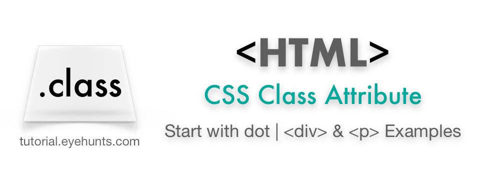 CSS class attribute