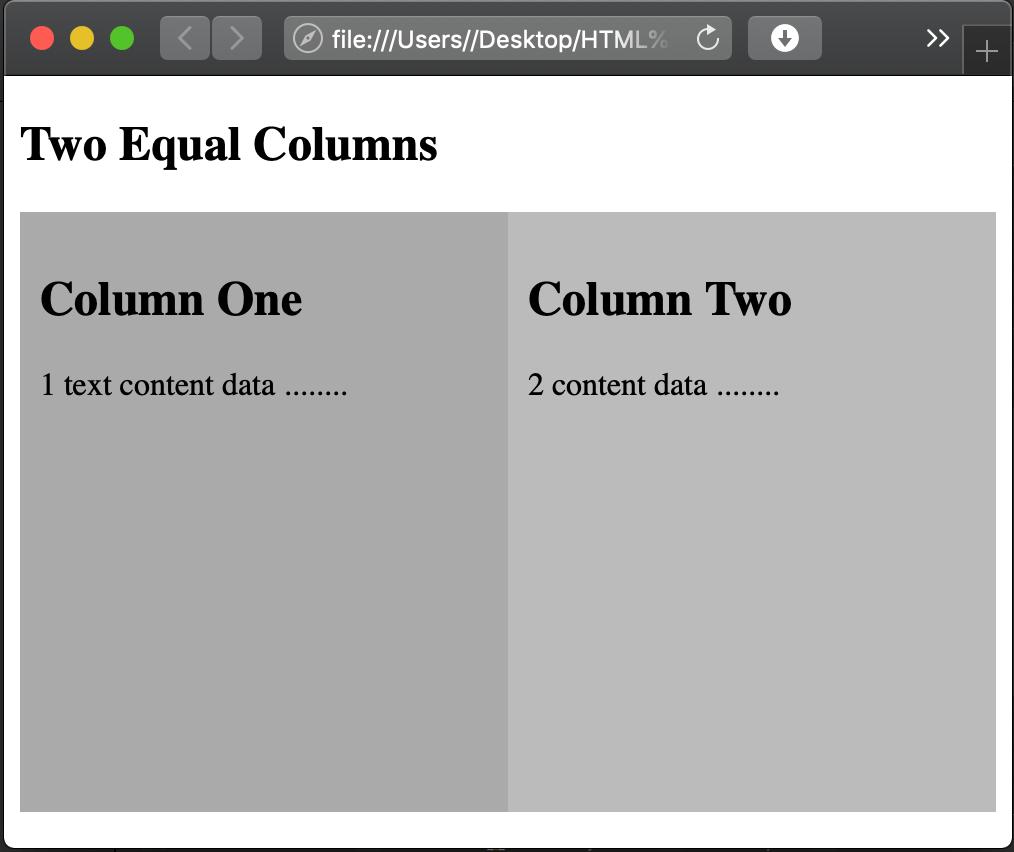 Modern way use CSS Flexbox