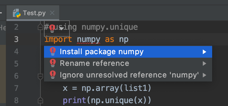 python find unique values in list