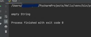 Python string length len function