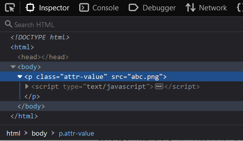 HTML Replace image with text JavaScript