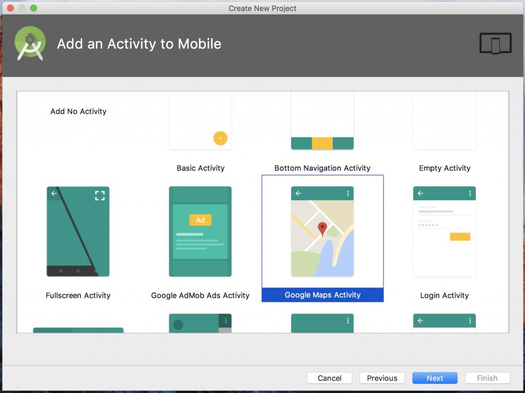 Google Maps Android Kotlin example tutorial