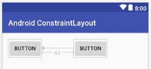 Android ConstraintLayout Relative positioning