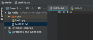 Python Write File Write mode