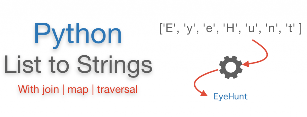 Convert List to String Python | Comma | Space | Join | Map Convert List to String Python | Comma | Space | Join | Map Traversal