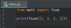 Python Import frommodule_name.member_name 3
