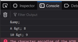 JavaScript HTML encode special characters