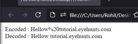 JavaScript unescape string