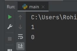 Convert Boolean to Int Python