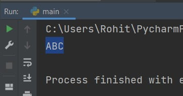 Convert list to string Python