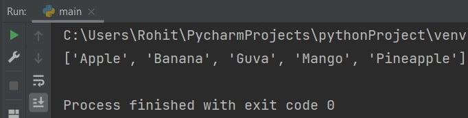 Extend Python add to list