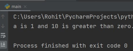 Python If-Else Statement with AND Operator