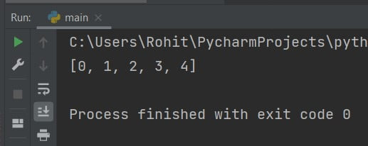Python add to list in a loop