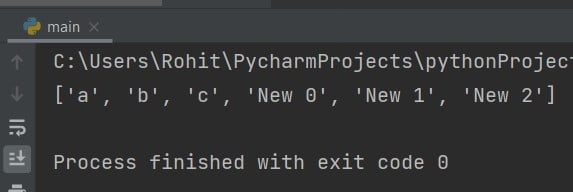 Python append to list while iterating