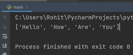 Python capitalize the first letter of every word in the list