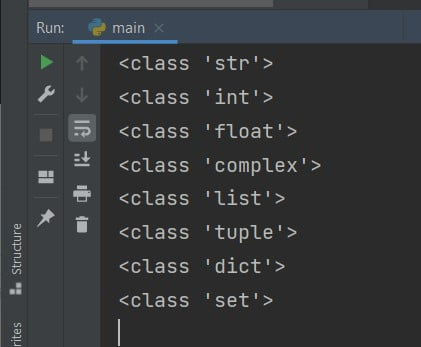 Python check data type
