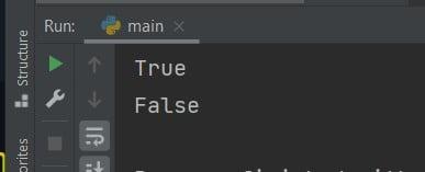 Python if string equals