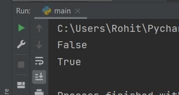 Python null string