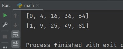 Python one line if-else for a loop