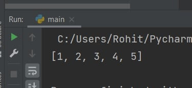 Python sort list Array