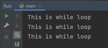 While Boolean Python