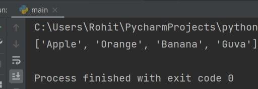 insert to add elements list python