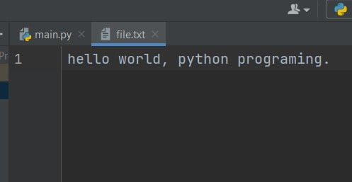 Python Program to Read a File and Capitalize the First Letter