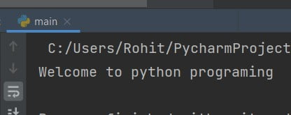 Python capitalize the first letter of a sentence