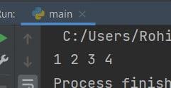Python list without last element