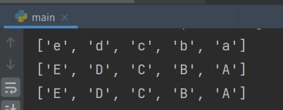 Python sorted reverse