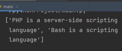 Python filter list of strings