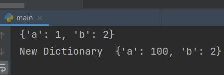 Python global dictionary