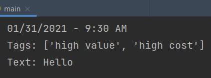 Python multiline f string