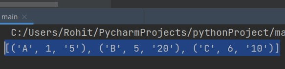 Python sort lambda