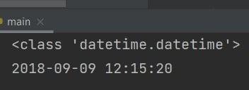 Python string to datetime