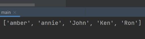 key lambda Python