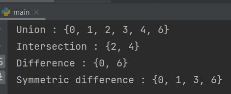 Python set extend